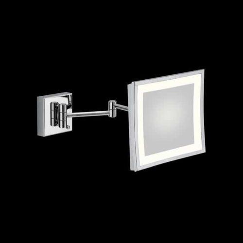 specchio a muro / luminoso a LED / ingranditore / moderno