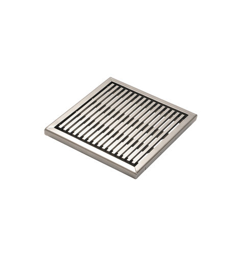griglia di drenaggio in acciaio galvanizzato / in acciaio inossidabile / per spazi pubblici / per spazi verdi
