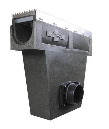 canaletta per spazio pubblico / in acciaio inox / in acciaio galvanizzato / polimerica