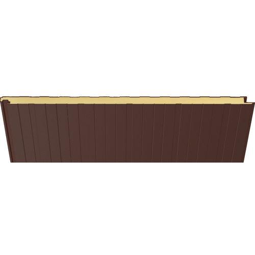 pannello sandwich per facciata / per tetto / per muro / rivestimento in acciaio