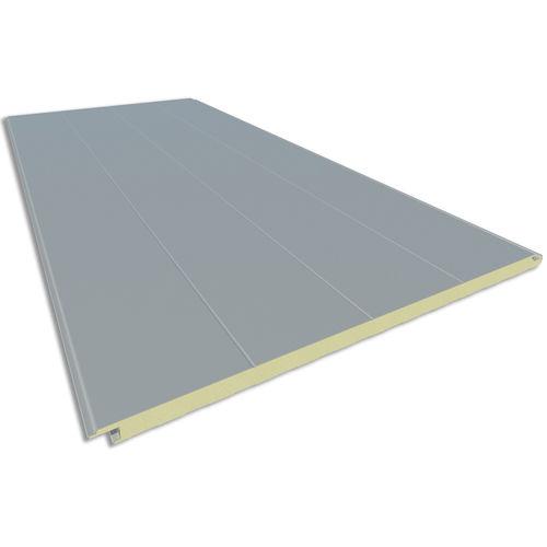 pannello sandwich per facciata / per rivestimento di facciata / rivestimento in acciaio / bifacciale metallico