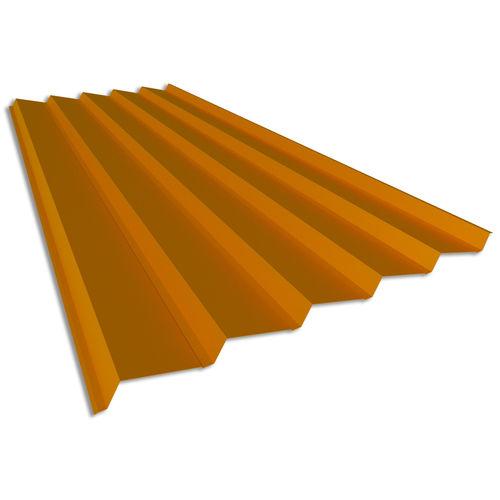 lamiera grecata / in acciaio / per facciate / colorata