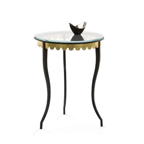 Tavolo d'appoggio / classico / in vetro / in ferro JOSEPHINE Mobilier De Style