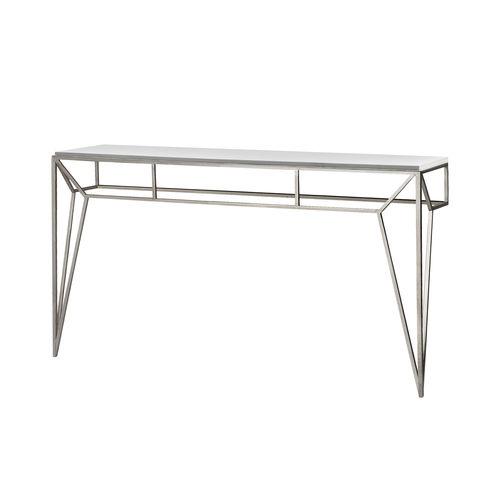 Consolle classica / in vetro / in ferro / in ferro modellato PRISME Mobilier De Style