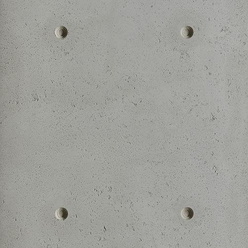 Paramento in calcestruzzo / indoor / testurizzato / colorato SCAFFOLDED 15MM by Matali Crasset PANBETON