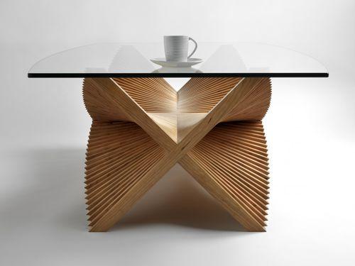 Tavolino basso / moderno / in legno / rettangolare BEATING WINGS David Tragen