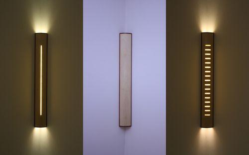 Applique moderna / in legno / LED / lineare SKYSCRAPER  David Tragen