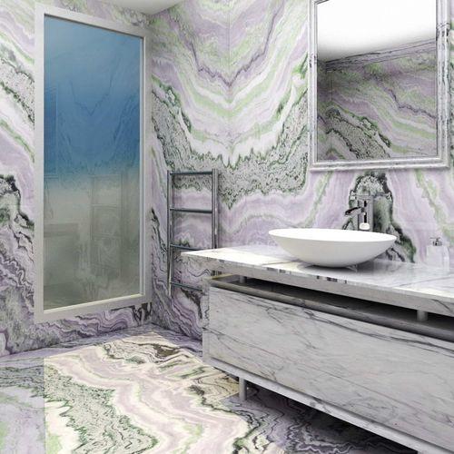 Piastrella da interno / da parete / per pavimento / in marmo ELITE DESIGN Elite Stone