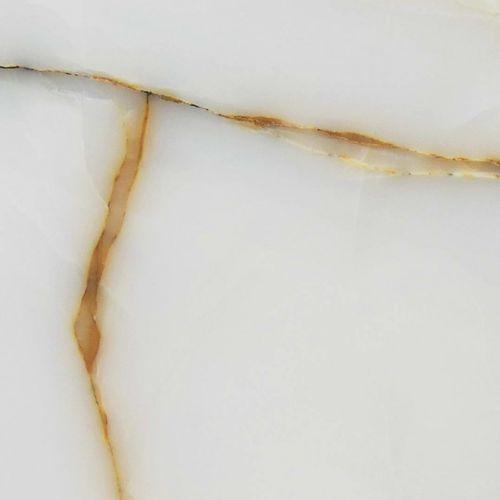 Piastrella da interno / da parete / per pavimento / in onice WHITE GOLDEN VEIN Elite Stone