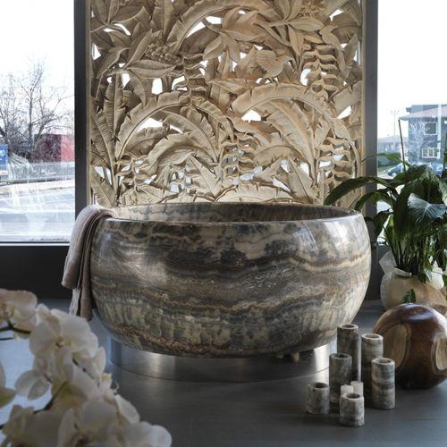 vasca da bagno da appoggio - Elite Stone