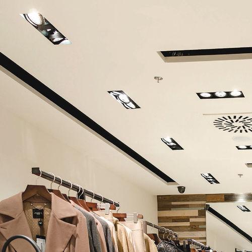 Faretto da incasso a soffitto / da interno / LED / alogeno EXPO NO FRAME LIRALIGHTING
