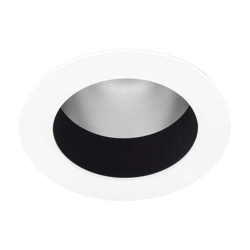 downlight da incasso a soffitto / LED / tondo / in acciaio