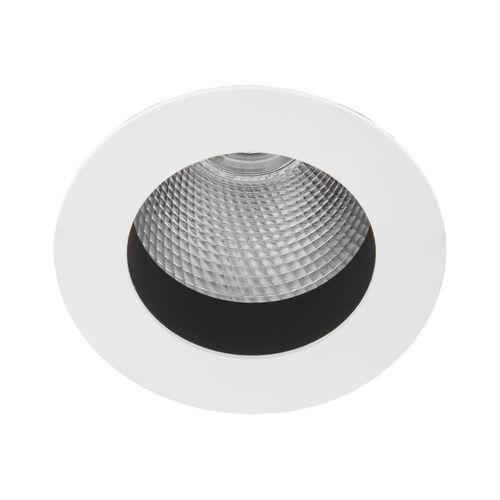 Downlight da incasso a soffitto / LED / rotondo / in acciaio DL 381 LIRALIGHTING