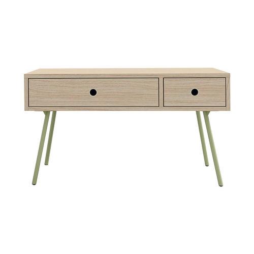 comodino moderno / in legno / rettangolare / con cassetti