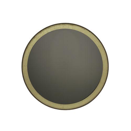 Specchio a muro / moderno / rotondo / in noce GOLD LEAF : 20606 by Dawn Sweitzer NOTRE MONDE