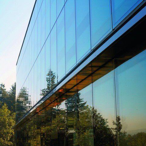 pannello in vetro laminato / a doppi vetri / isolante / per facciata
