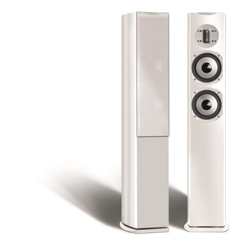 altoparlante a colonna / in alluminio