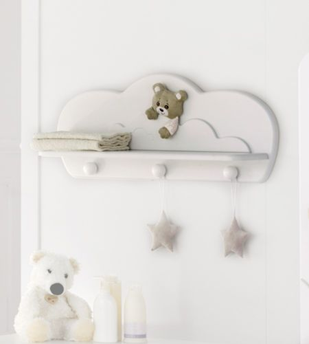 mensola / moderno / in legno / per bambini