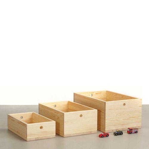 cassapanca portagiochi in legno