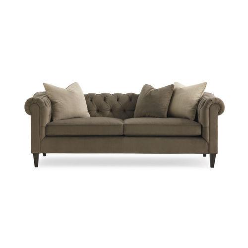 divano chesterfield / in tessuto