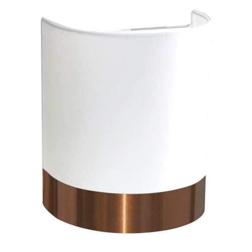 applique moderna / in rame / in cotone / LED