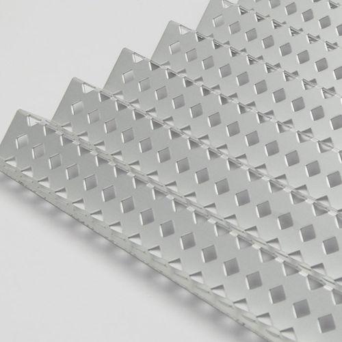 lamiera metallica perforata / decorativa / ondulata / in alluminio