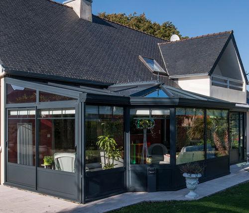 veranda in alluminio / tuttovetro
