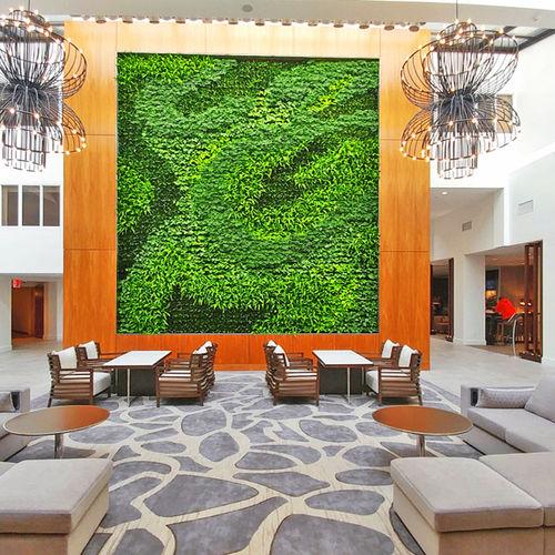 parete vegetale di piante viventi - GSky Plant Systems, Inc.