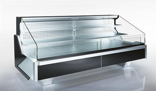 vetrina refrigerata espositiva / illuminata / per alimenti congelati / per negozio