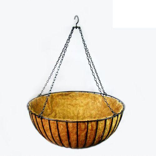 vaso da giardino in acciaio / sospeso / tondo