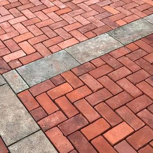 pavimentazione in terracotta / per pedoni / da esterno