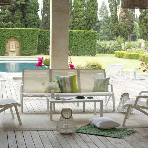 panca da giardino / moderna / in alluminio / in Textilene®