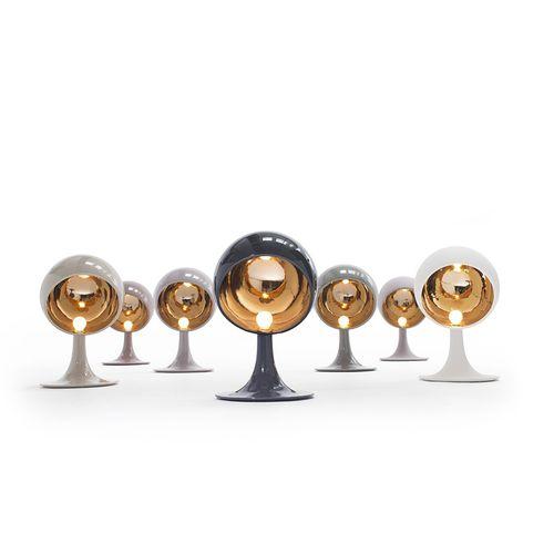 lampada da tavolo / moderna / in raso / in ceramica