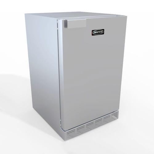 frigorifero ad armadio / in acciaio inox / con cantinetta vini