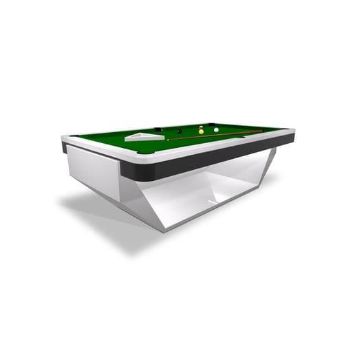 tavolo da biliardo moderno / trasformabile in tavolo da pranzo / contract