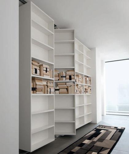 libreria modulare / pavimento-soffitto / mobile / moderna