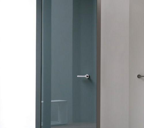 Porta interna / battente / in vetro / filomuro LEVEL by Paolo Cappello  ALBED