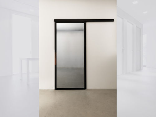 Porta da interni / scorrevole / in alluminio / vetrata QUINTA ALBED