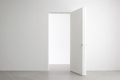 Porta interna / battente / in legno / in alluminio INTEGRA ALBED
