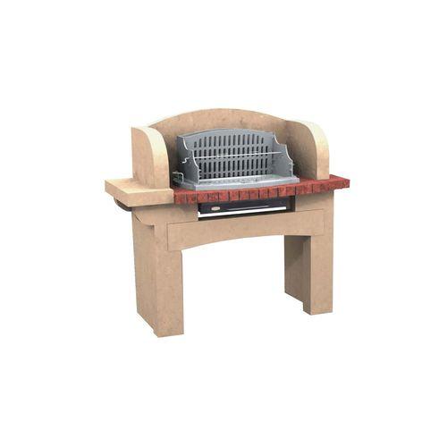 barbecue a legna / fisso / in calcestruzzo / in pietra