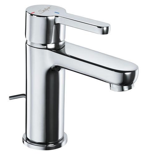 miscelatore per lavabo / per lavamani / da bancone / in ottone cromato