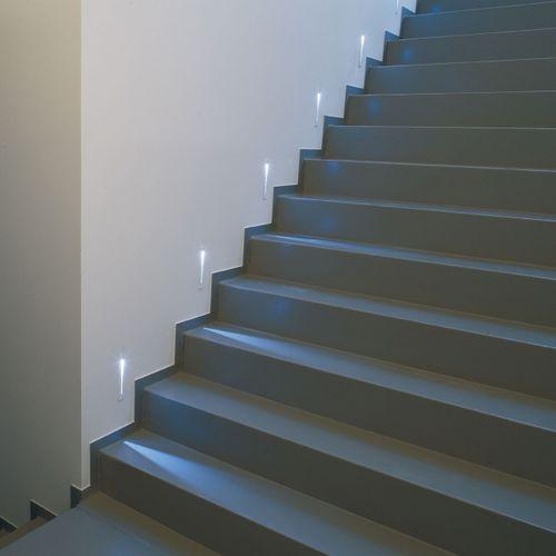 luce da incasso a muro / LED / lineare / in alluminio