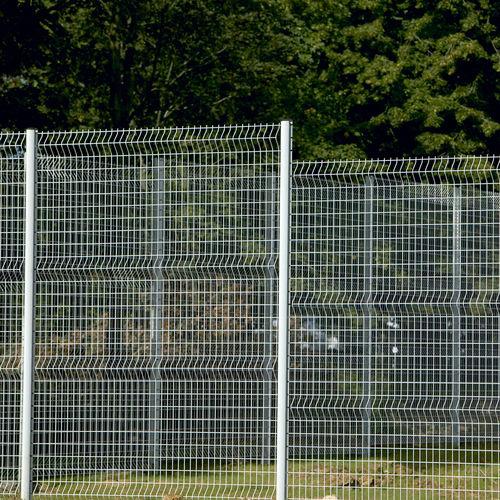 recinzione per spazio pubblico / ad uso industriale / a pannelli / in acciaio galvanizzato