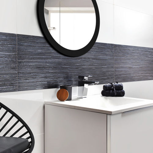 piastrella da bagno / da parete / in gres porcellanato / a tinta unita