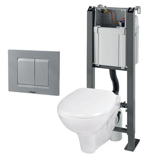 staffa di fissaggio per WC sospeso / con serbatoio dello sciacquone
