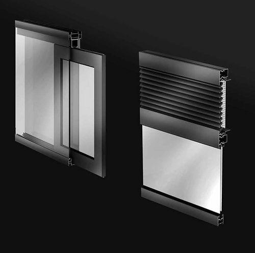 porta finestra battente / in alluminio