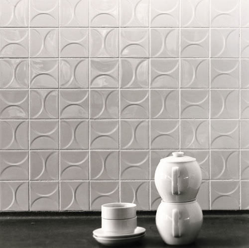 Piastrella da pavimento / in ceramica / motivi geometrici / 3D CLASSICS KHO LIANG IE Mosa. Tiles.