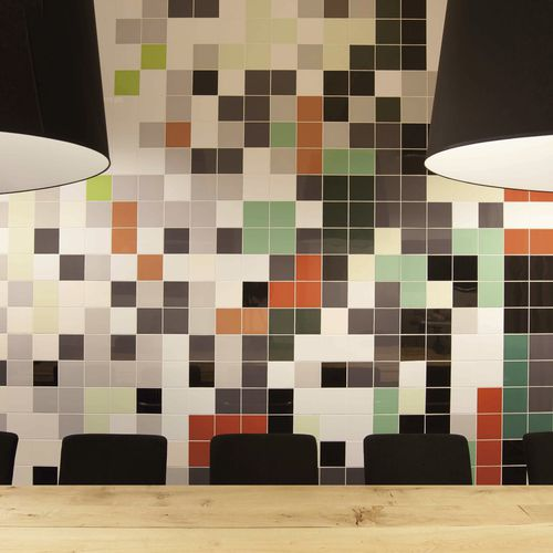 Piastrella da bagno / da pavimento / in ceramica / a tinta unita MOSA COLORS Mosa. Tiles.