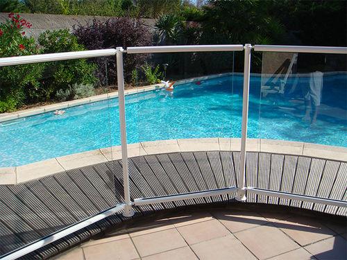 barriera di protezione / fissa / in alluminio / per piscina