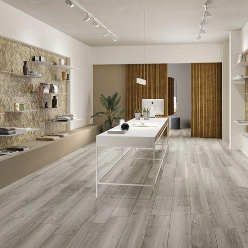 piastrella da interno / da pavimento / in gres porcellanato / aspetto parquet